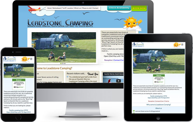 Leadstone camping design.