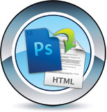 Image PSD to HTML services.