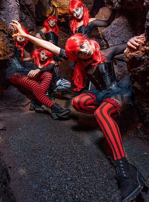 Signature Rouge Photoshoot at Kents Cavern
