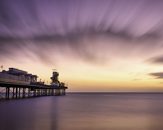 Paignton Pier at Sunrise.
