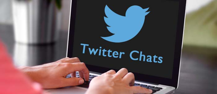 How to Twitter chat.