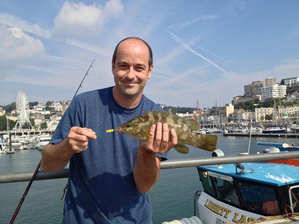 Me fishing in Torquay.