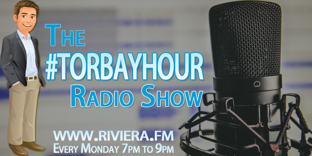 #TorbayHour radio show.