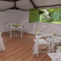Wedding at HayLoft, Cockington, Torquay.