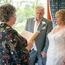 Getting married, Gipsy Hill Hotel, Exeter, Devon.