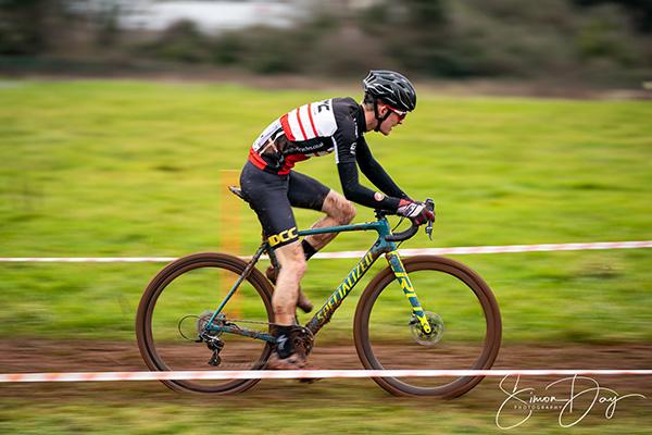 Panning shot at cycle race.