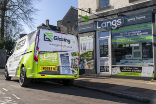 Langs Torquay. Outside photo with new van decal