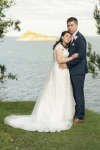 Wedding formal shot on the grounds of the Osborne Hotel, Torquay, Devon.
